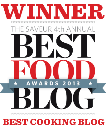 Winner of Saveur's Best Food Blog Awards