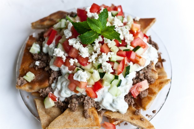 Greek Nachos - Not Without Salt