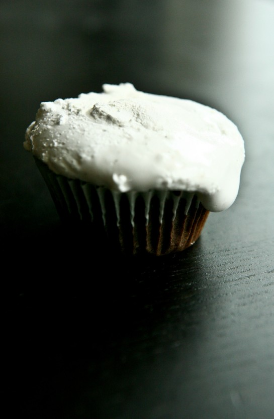 Chocolate Cupcakes with Marshmallow Frosting - Not Without Salt
