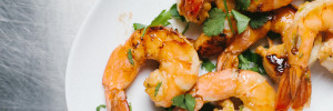 Chile Lime Shrimp with Roasted Poblano Cream // Not Without Salt