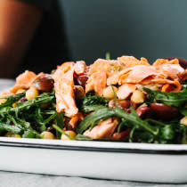 Salmon and Chickpea Salad // Not Without Salt