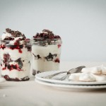 Eton Mess with Wine Soaked Cherries // notwithoutsalt.com