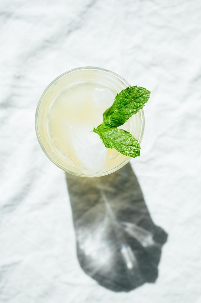 Peppermint Tea Lemonade // Not Without Salt