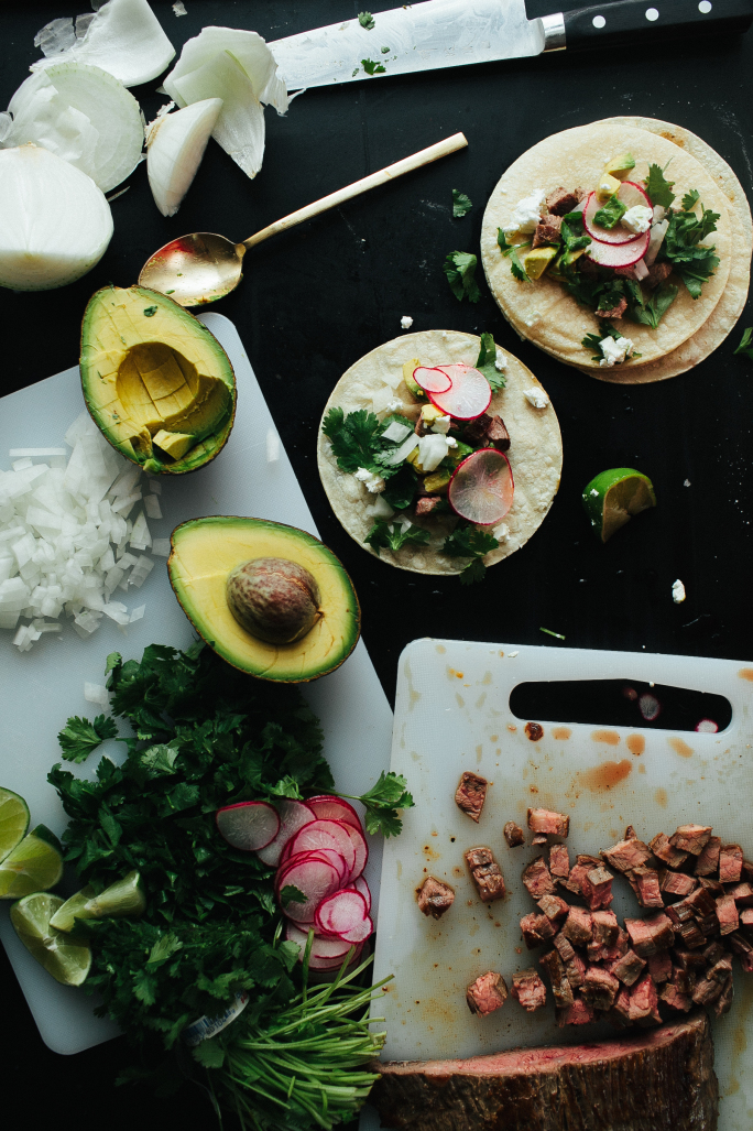 Flank Steak Tacos // Not Without Salt