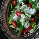Yogurt Ranch Dressing // notwithoutsalt.com