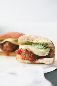 Meatball Sandwich // not without salt