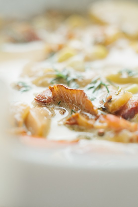 Chanterelle Chowder // Not Without Salt