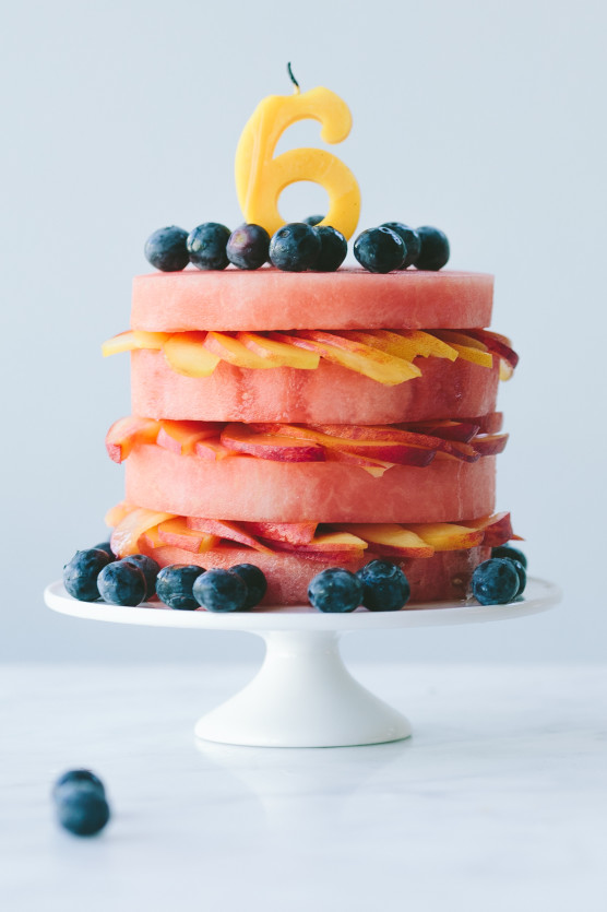 "Fresh Fruit ""Cake"" // Not Without Salt"